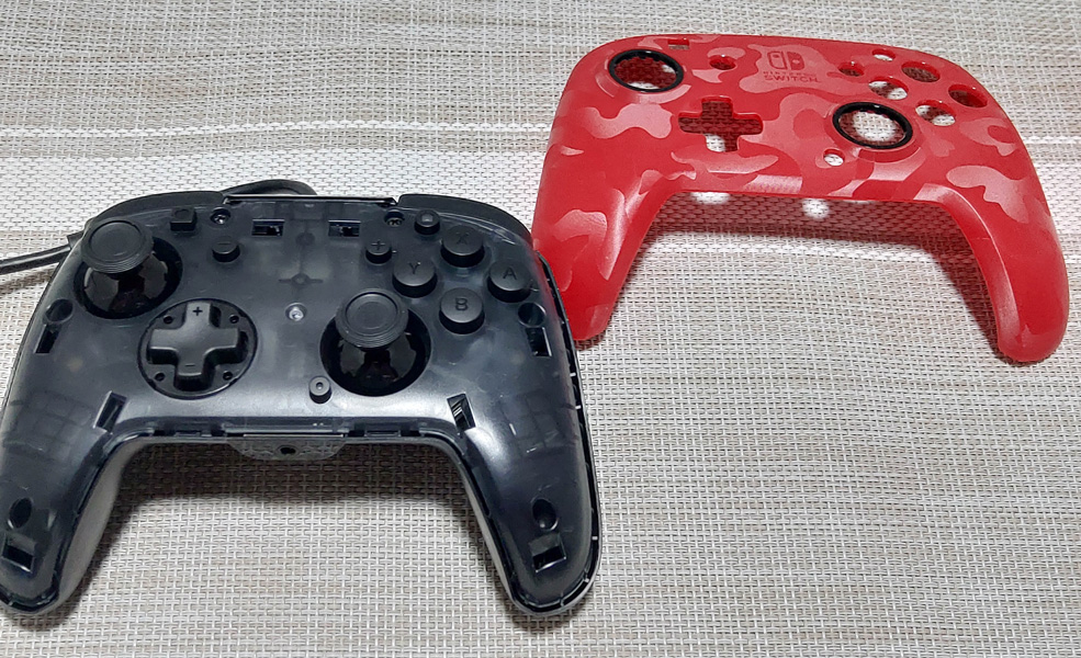 Faceoff Deluxe+ Audio Wired Controller